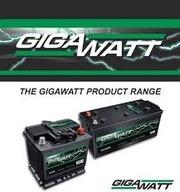 Аккумуляторы GIGAWATT в Алматы купить +77772774851